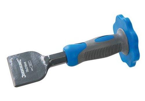 Silverline Elektricienbeitel met beschermgrip 76 mm