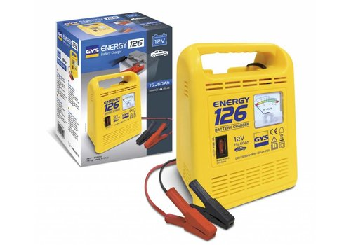 GYS Acculader ENERGY 126, Traditioneel
