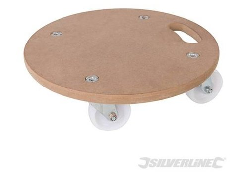 Silverline Ronde platform dolly 250 kg