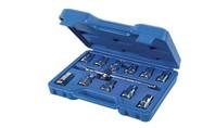 """Silverline 12-delige oliepluggen sleutel set  3/8"""" / 8-17 mm"""