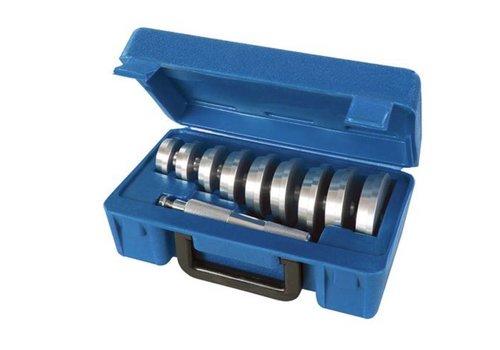 Silverline 10-delige wiellager montage set 40-81 mm