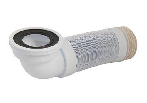 Silverline Flexibele afvoerbocht met 90° aansluitstuk, 110 mm - 320 - 750 mm