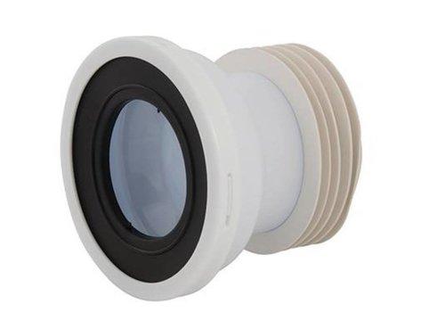 Plumbob Rechte WC afvoermof 110 mm dia.