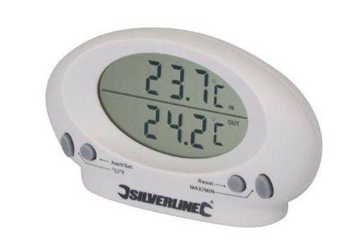 Silverline Binnen/buiten thermometer