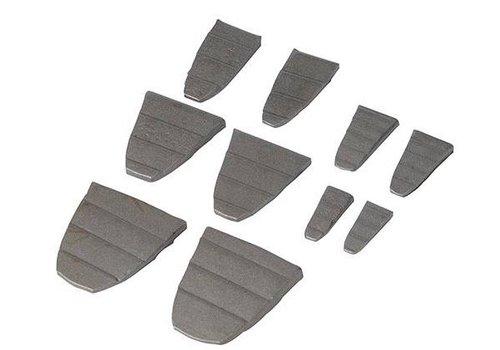 Silverline 10-delige hamer wiggen set