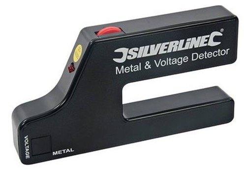 Silverline Metaal en spanning detector 1 x 9 V (PP3)