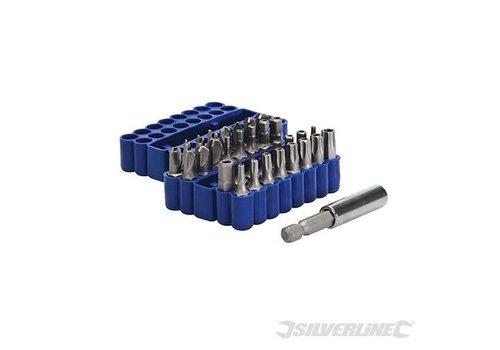 Silverline 33-delige veiligheid bit set