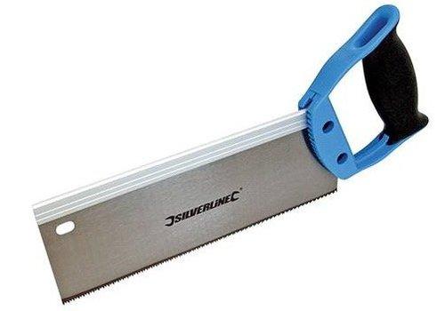 Silverline Kapzaag met geharde tanden 250 mm, 12 tpi