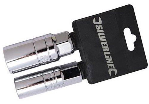 Silverline 2-delige bougiesleutel set