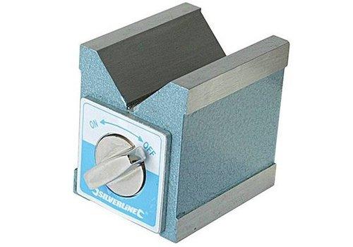 Silverline Magnetisch V-blok 70 x 60 x 70 mm