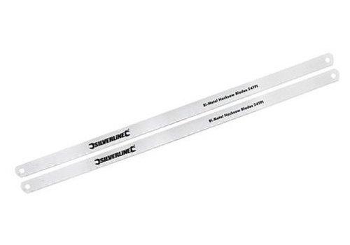 Silverline Bi-metalen metaalzaagblad, 2 st.