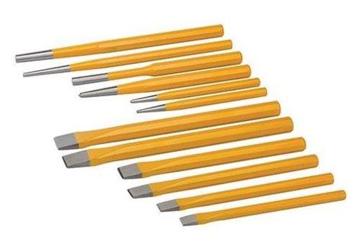 Silverline 12-delige priem en beitel set