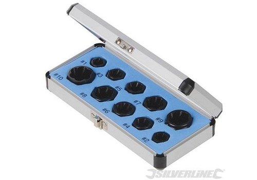 Silverline 10-delige boutuitdraaier set