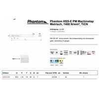 HSS-E PM Machinetap Metrisch, 1400 N/mm², TiCN Artikelgroep 22.505