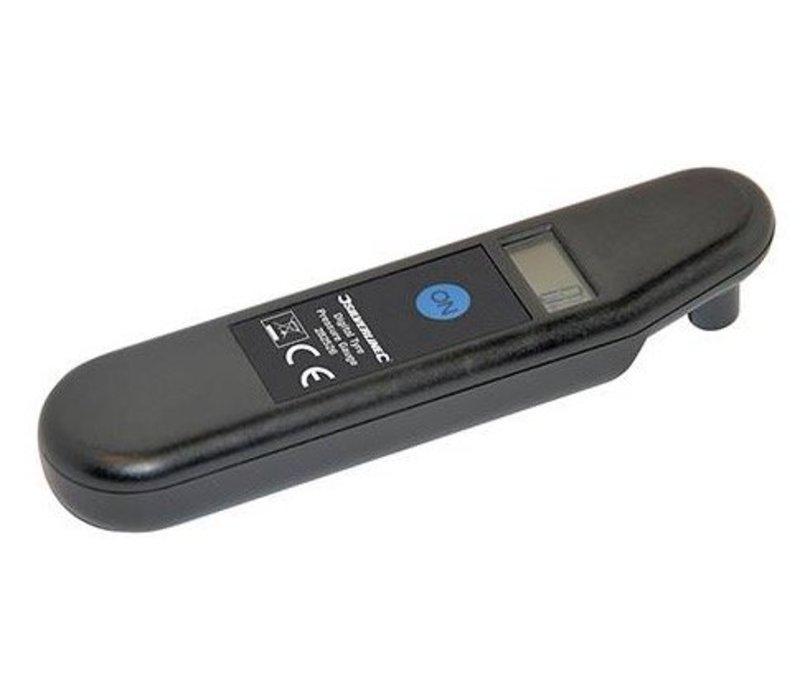 Digitale bandenspanningsmeter 0,15 - 7 bar (2 - 99,5 psi)