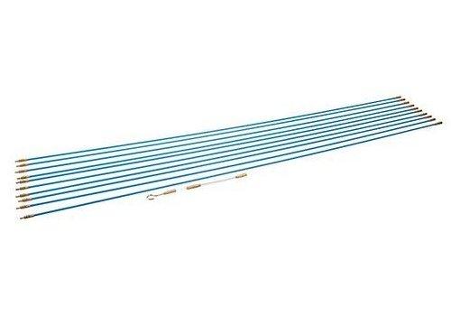 Silverline 13-delige kabel plaats gereedschap set 10 x 1 m