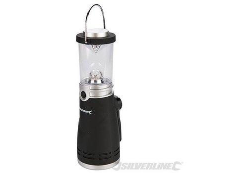 Silverline Opwindbare lantaarn, 4 LED