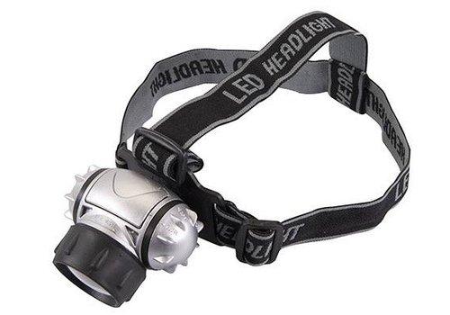 Silverline LED krypton hoofdlamp, 6 LED