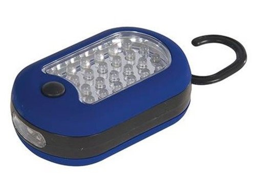 Silverline Multifunctionele LED lamp, 27 LED