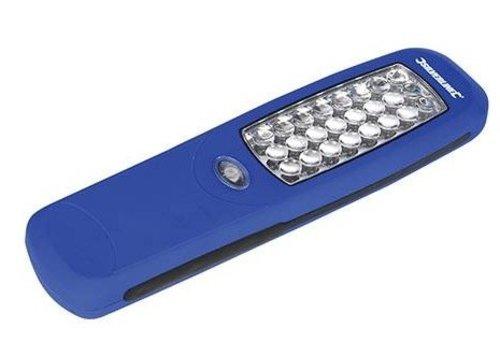 Silverline Magnetische LED zaklamp, 24 LED