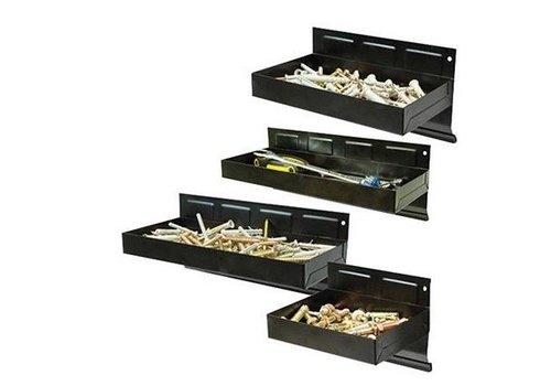 Silverline 4-delige magnetische gereedschapsbakken set, 150 - 310 mm
