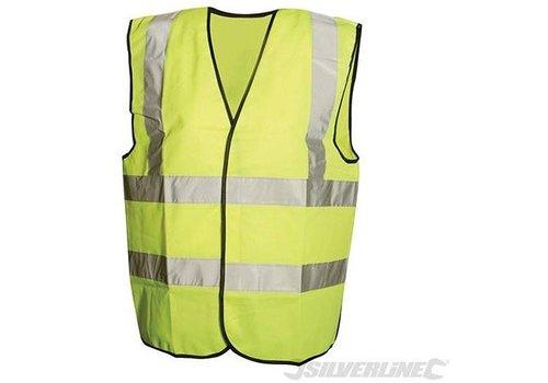 Silverline Fluorescerend vest, klasse 2