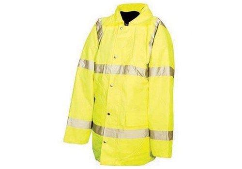 Silverline Fluorescerende jas, klasse 3