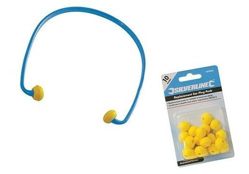 Silverline U-band oordoppen, SNR 21 dB