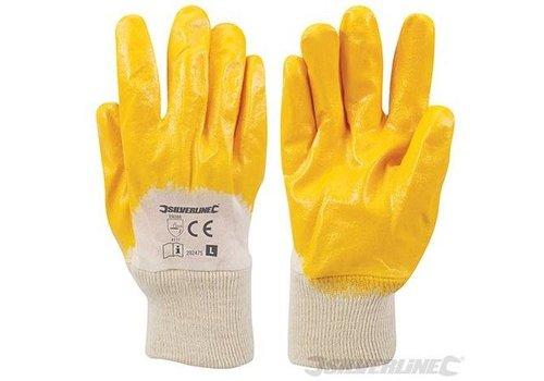 Silverline Nitril handschoenen met ademende achterzijde