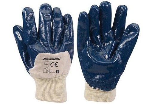 Silverline Nitril handschoenen met een ademende achterzijde