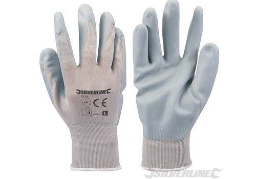 Silverline Nylon nitril handschoenen