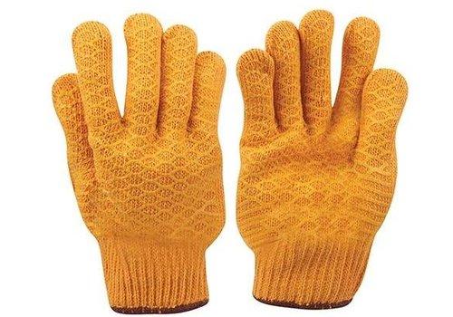 Silverline Gele anti slip handschoenen