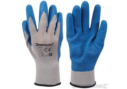Silverline Latex bouw handschoenen