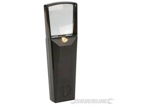 Silverline Vergrootglas met ingebouwd lampje, 45 mm, 4,5x