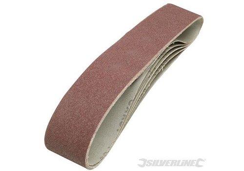 Silverline Schuurbanden 50 x 686 mm, 5 stuks korrel 80
