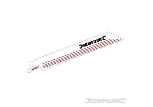 Silverline Reciprozaagblad, 18 tpi, 5 pk. 150 mm