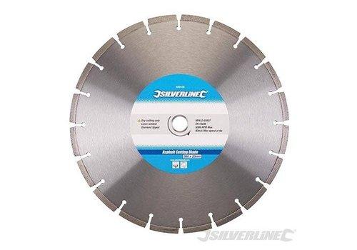 Silverline Snijschijf voor Asfalt 300x20 mm