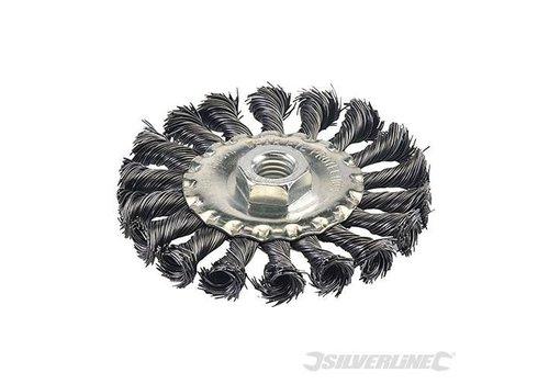 Silverline Roterende staalborstel 100 mm