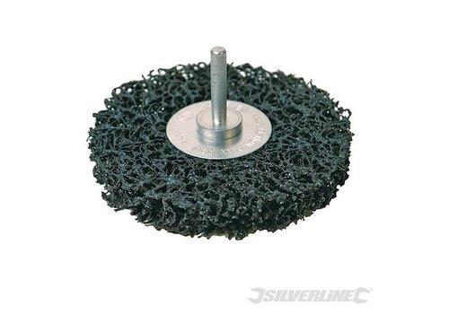 Silverline Polycarbide staalborstel wiel 100 mm