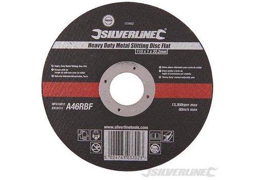 Silverline Professioneel Platte Gleufsnjischijf Metaal