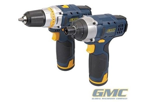 GMC 12 V boor- en schroefmachine set