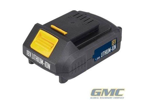 GMC 18 V, 1,5 Ah Li-ion accu