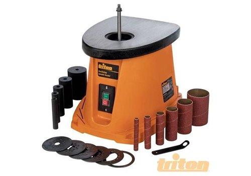 Triton Oscillerende schuurmachine, 450 W en schuurhulzen
