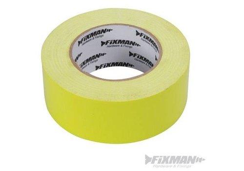 FIXMAN 'Heavy-Duty' Hi-Vis duct tape 50 mm x 50 m