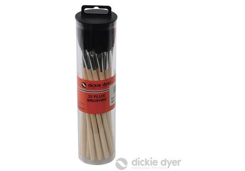 Silverline Fluxborstels, 25 pk.