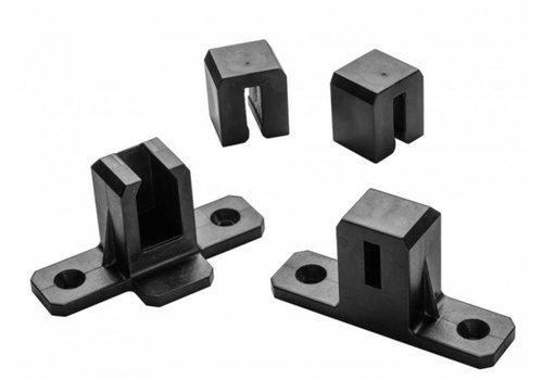 Rockler Mini Sure-Foot®-conversieset voor Clamp-It®-staafklemmen