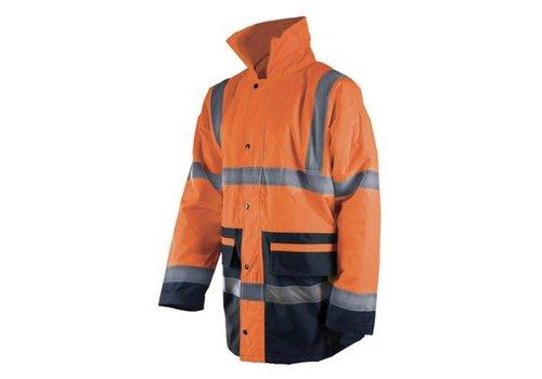 Silverline 2-kleurige reflecterende Hi-Vis jas, klasse 3