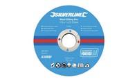 Silverline Metaalsnijschijven 10 pk. 115 x 1 x 22,23 mm