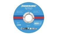 Silverline Metaal snijschijven 10 pk 100 x 1 x 16 mm