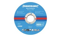 Silverline Metaalslijpschijven 10 pk. 100 x 6 x 16 mm